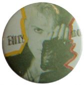 Billy Idol - 'Glove' Button Badge